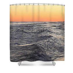 Sunset Surf Fishing Shower Curtain