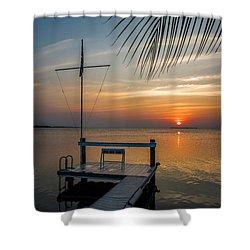 Sunset Villa Shower Curtain