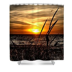 Sunset Walk Shower Curtain