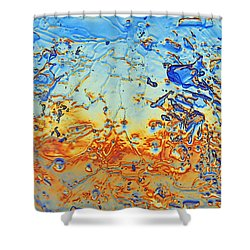 Shower Curtain featuring the photograph Sunset Walk by Sami Tiainen