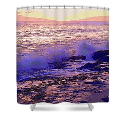 Sunset, West Oahu Shower Curtain