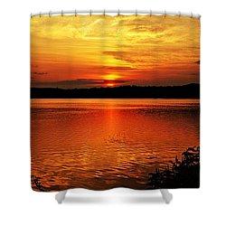 Sunset Xxiii Shower Curtain by Joe Faherty