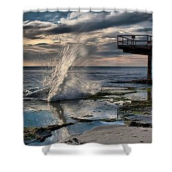 Sunsets Show Shower Curtain