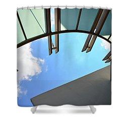 Sunshade Shower Curtain