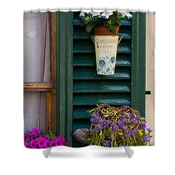 Sunshine A Stem Shower Curtain