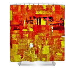 Sunshine Almost Always Makes Me High Shower Curtain