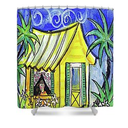 Sunshine Cottage Shower Curtain