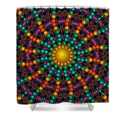 Shower Curtain featuring the digital art Sunshine Daydream by Robert Orinski