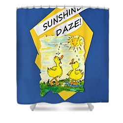 Sunshine Daze Shower Curtain