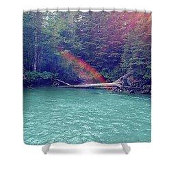 Sunshine Lagoon Shower Curtain