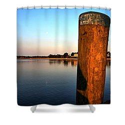 Sunshine On Onset Bay Shower Curtain