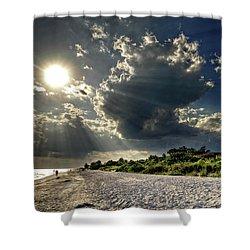Sunshine On Sanibel Island Shower Curtain