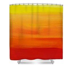 Sunshine Shower Curtain by Sean Brushingham