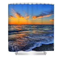 Shower Curtain featuring the photograph Sunshine Skies by Scott Mahon