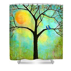 Sunshine Tree Shower Curtain