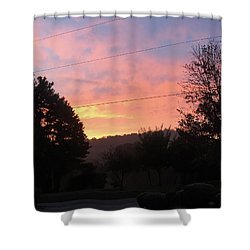 Sunshine Without The Fog Shower Curtain