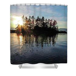 Sunstar Announcing Dusk Shower Curtain
