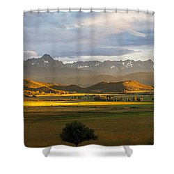 Sunstreak Shower Curtain