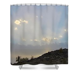 Suntensed Shower Curtain