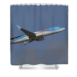 Sunwing Airlines Shower Curtain