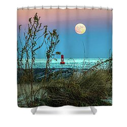 Super Moon 2016 Shower Curtain