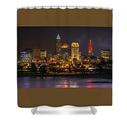 Super Moon 2016 Over Cleveland Shower Curtain