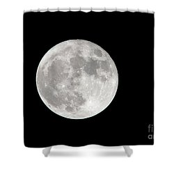 Super Moon Shower Curtain by Kevin McCarthy
