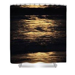 Super Moon Light Shower Curtain
