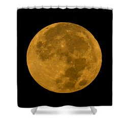 Super Moon Monday Shower Curtain