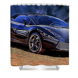 Super Speed Shower Curtain