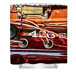 Super Stock Ss 426 IIi Hemi Motor Shower Curtain