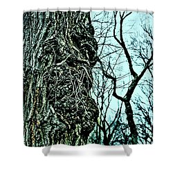 Super Tree Shower Curtain