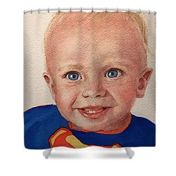 Superboy Shower Curtain