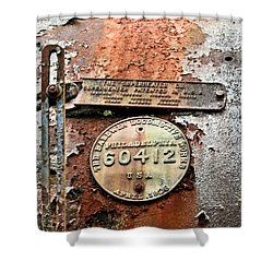 Shower Curtain featuring the photograph Superheater by Kristin Elmquist