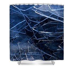 Superior Ice Shower Curtain