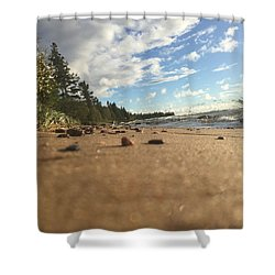 Superior Shore Shower Curtain