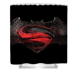 Superman Vs Batman Shower Curtain