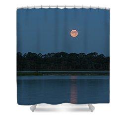 Supermoon Dawn 2013 #2 Shower Curtain
