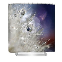 Shower Curtain featuring the photograph Supernova by Amy Tyler