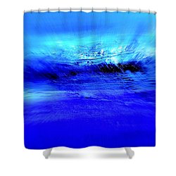Superstorm At Sea Shower Curtain