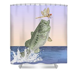 Supper Time Shower Curtain by Barry Jones
