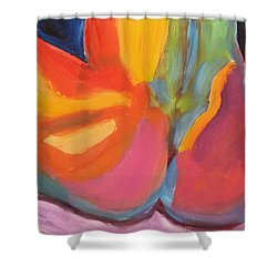 Supple Buttocks Shower Curtain