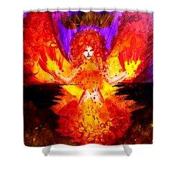Supreme Seraphim  Shower Curtain