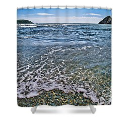 Surf #2959 Shower Curtain