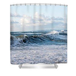 Surf And Sky Shower Curtain