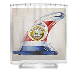 Surf Costa Rica Shower Curtain