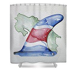 Surf Costa Shower Curtain