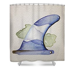 Surf El Salvador Shower Curtain