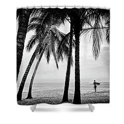 Surf Mates 2 Shower Curtain