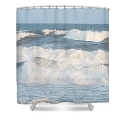 Surf Up Shower Curtain by Jake Hartz
